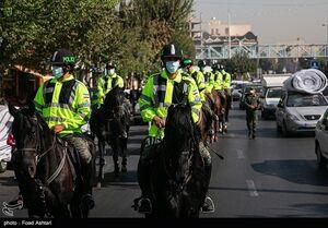 عکس/ رژه اسب سواران یگان ویژه ناجا