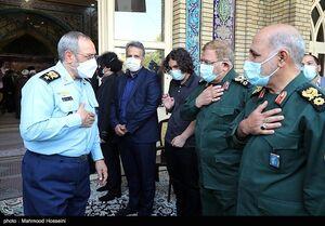 عکس/ مراسم چهلمین روز درگذشت سرلشکر فیروزآبادی