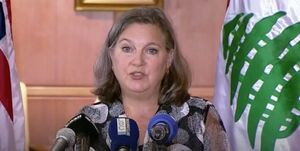 لفاظی معاون بلینکن در بیروت علیه ایران