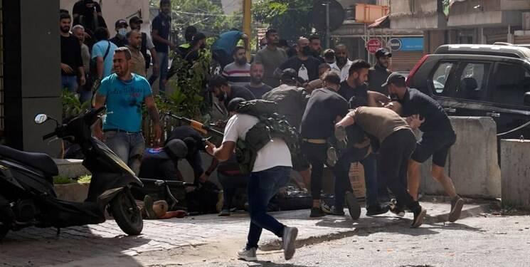 بيروت،لبنان،امل،تيراندازي،هدف،فتنه،انفجار،بيانيه،نفر
