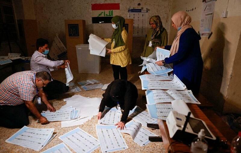 احتمال تغییر اساسی در نتایج شمارش آرای عراق