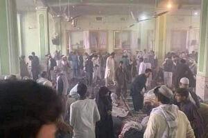 فیلم/ انفجار در مسجدی در قندهار