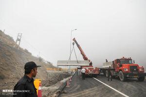 آزادراه تهران-شمال مسدود میشود