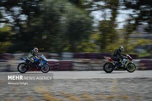 عکس/ راند اول مسابقات موتور ریس
