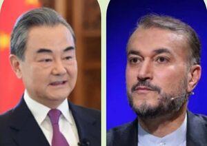 امیرعبداللهیان بر ضرورت اجرای برنامه جامع ۲۵ ساله با چین تاکید کرد