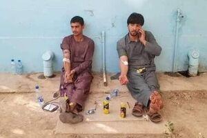 عکس/ اهدا خون افغانستانیها به مجروحان انفجار تروریستی