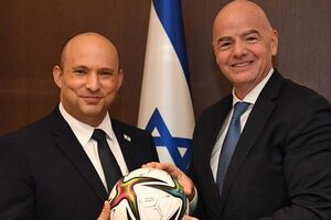 وقتی رئیس فیفا در خدمت صهیونیستها شد/ جام جهانی روی پیکر شهدای فلسطین!