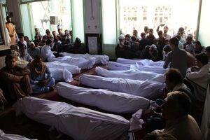 عکس/ تشییع جنازه شهدای نماز جمعه قندهار