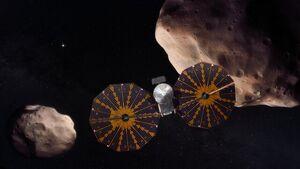 فضاپیمای لوسی به فضا پرتاب شد