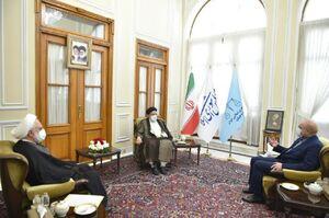 عکس/ جلسه سران قوا به میزبانی رئیسمجلس