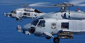 سقوط بالگرد سیهاوک نیروی دریایی استرالیا