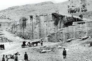 آثار باستانی ایران اینطوری غارت شد +عکس