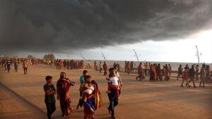 عکس/ طوفان وحشتناک در بنگلادش