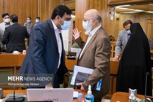 عکس/ حاشیههای جلسه امروز شورای شهر