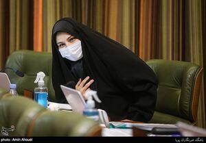 عکس/ نرجس سلیمانی در جلسه شورای شهر تهران