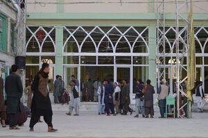 فیلم/ لحظات حمله انتحاری به مسجد قندهار