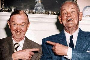آخرین عکس لورل و هاردی