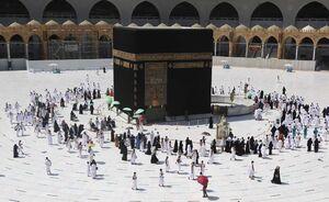 عکس/ بازگشایی مسجدالحرام به روی زائران
