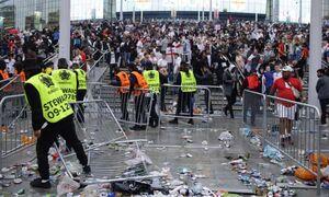 فینال یورو؛ هرجومرج در ومبلی ۱۰۰هزار یورو برای انگلیس آب خورد
