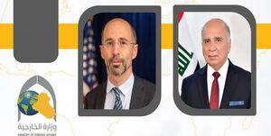 دیدار وزیر خارجه عراق با فرستاده آمریکا درباره ایران