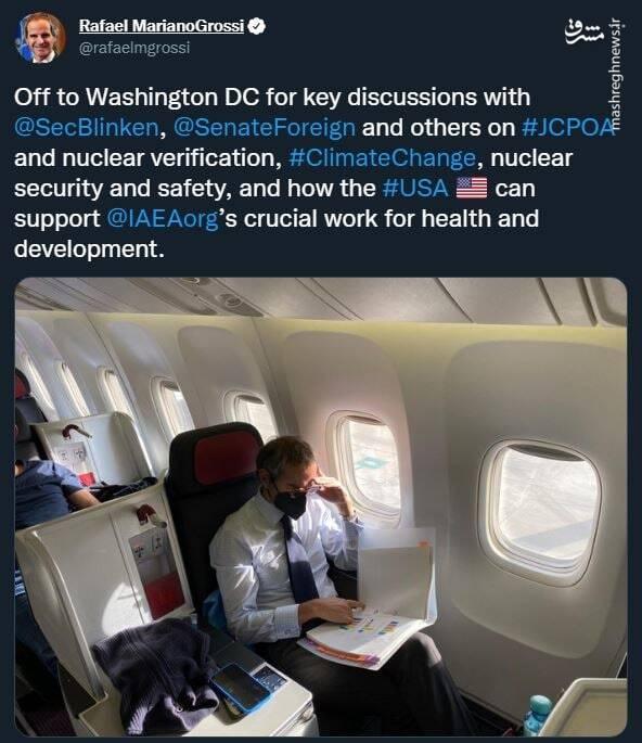 سفر گروسی به آمریکا در ارتباط با برجام