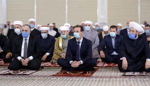 عکس/ حضور بشار اسد در مراسم هفته وحدت