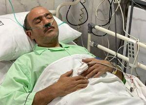 اولین تصویر از مهران غفوریان در بیمارستان