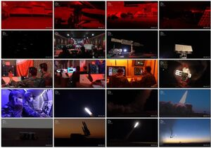 تصاویر دیدنی از انهدام اهداف توسط پدافند هوافضا