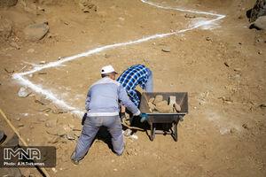 عکس/ یافته جدید باستان شناسان در همدان