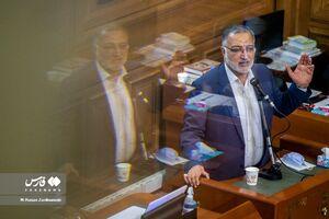 عکس/ حضور زاکانی در جلسه شورای شهر تهران
