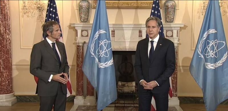 رایزنی بلینکن با گروسی درباره برنامه صلحآمیز هستهای ایران