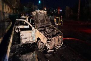 انفجار یک خودرو در رباط کریم با ۶ سرنشین