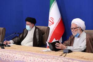 عکس/ دیدار اعضا جامعه روحانیت مبارز با رئیسی