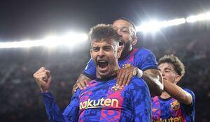 فیلم/ بارسلونا یک-دیناموکیف صفر؛ آبی اناریها سرانجام پیروز شدند