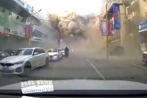فیلم/ انفجار شدید در چین