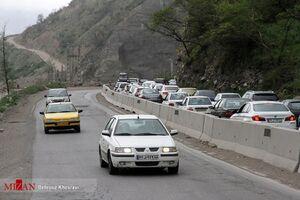 آزادراه تهران-شمال همچنان مسدود