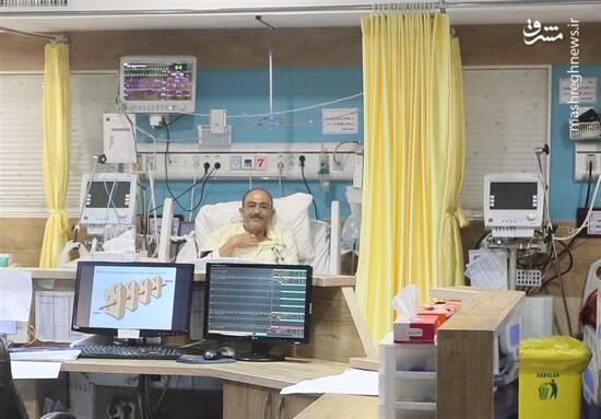 فیلم/ پیام مهران غفوریان بعد از عمل قلب