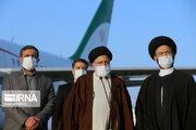 عکس/ سفر رئیسی به استان اردبیل