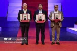 عکس/ اعطای جایزه علمی و فناوری مصطفی (س)