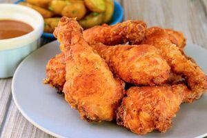طرز تهیه مرغ کنتاکی خانگی