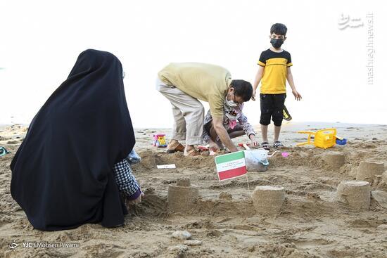 عکس/ جشنواره نگارههای ماسهای در بوشهر