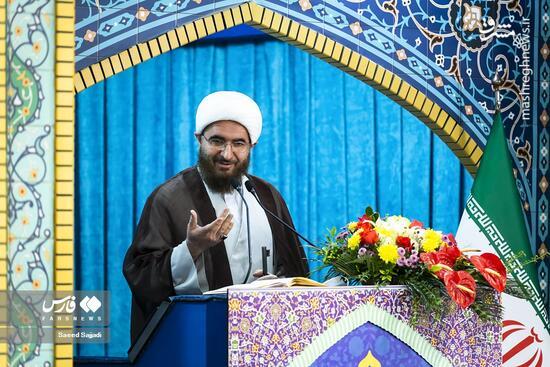 عکس/ حال و هوای نماز جمعه تهران