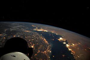 تصویر جدید یک فضانورد از خلیج فارس