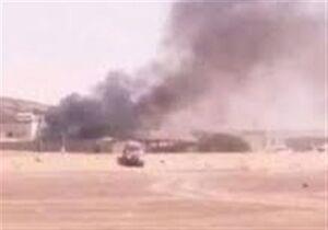 تصاویر حامی اصلی منصور هادی به آتش کشیده شد