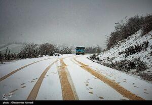 هشدار بارش باران و برف در برخی استانها