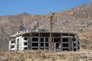 عکس/ ساخت و ساز بیرویه در کوههای دراک