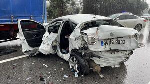 عکس/ تصادف زنجیرهای در ترکیه