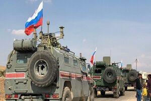 کاروان نظامیان روسیه در سوریه هدف قرار گرفت