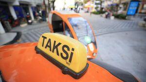 عکس/ تاکسی دوچرخه