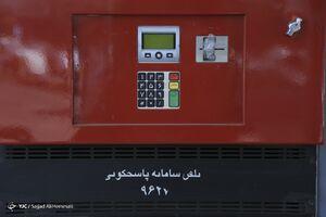 اولین تصاویر از توقف توزیع بنزین در جایگاههای سوخت